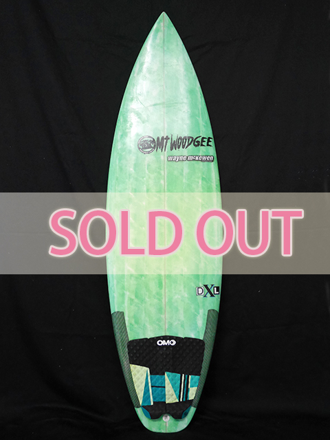 #dxl037 中古 Mt Woodgee Surfboards 5'7 DXL SOLD OUT