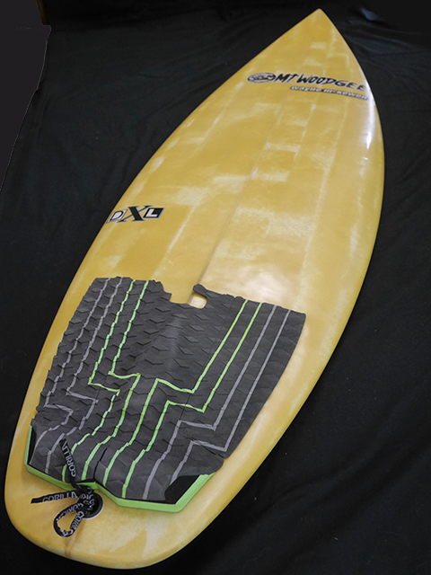 #dxl052 中古 Mt Woodgee Surfboards 5'7 DXL