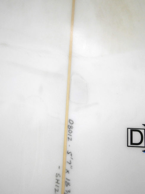 #dxl055 中古 Mt Woodgee Surfboards 5'7 DXL