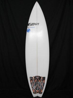 #hps050 中古 Mt Woodgee Surfboards 6'2 HP (High Performance)