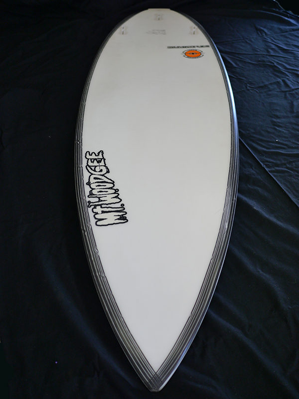 #hur056 中古 Mt Woodgee Surfboards 5'7 HURRICANE