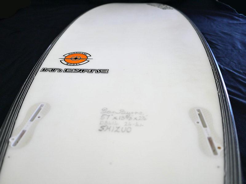 #hur056 中古 Mt Woodgee Surfboards 5'7 HURRICANE