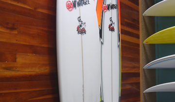 Mt Woodgee Surfboards Bullet 5'10""