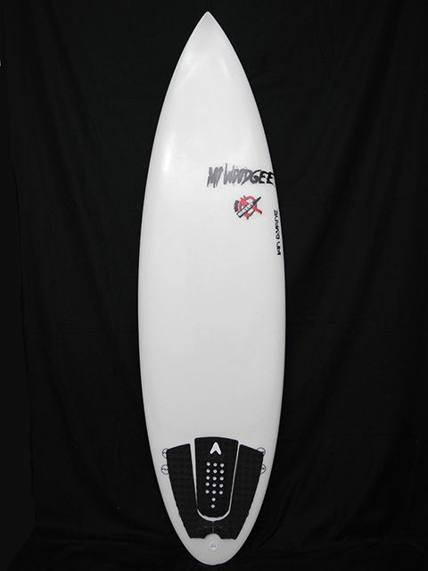 #mib049 中古 Mt Woodgee Surfboards 5'11 MINI BULLET RD