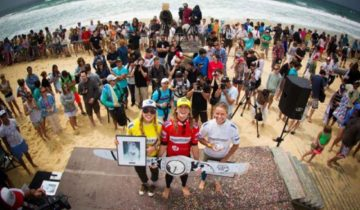 Swatch Girls Pro France ペイジ 2位