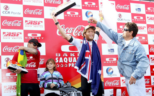Kai Otton Win Oakley Saquarema Surf Pro